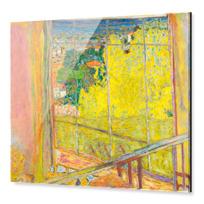 """Impression sous Acrylique """"L'Atelier au mimosa"""""""