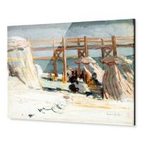 "Acrylic Print ""L'Estacade à Sainte-Adresse"""