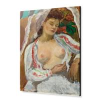 """Acrylic Print """"Femme aux seins nus assise"""""""