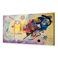 "Acrylic Print ""Gelb-Rot-Blau (Jaune-rouge-bleu)"""