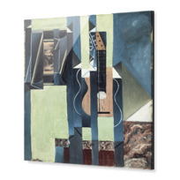 "Impression sous Acrylique ""La Guitare"""