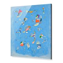 """Acrylic Print """"Bleu de ciel"""""""