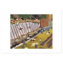 """Affiche """"Le Faubourg de Collioure"""""""