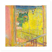 "Art Print ""L'Atelier au mimosa"""