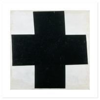 """Art Print """"Croix  [noire]"""""""
