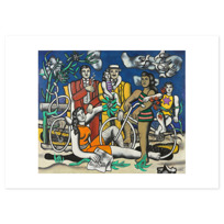 "Art Print ""Les Loisirs - Hommage à Louis David"""