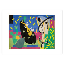 "Art Print ""La Tristesse du roi"""