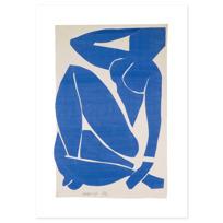 "Art Print ""Nu bleu III"""
