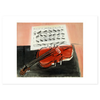 """Art Print """"Le Violon rouge"""""""