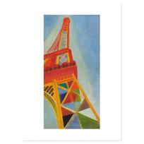 """Art Print """"La Tour Eiffel"""""""
