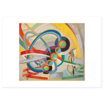 "Art Print ""Hélice et rythme"""