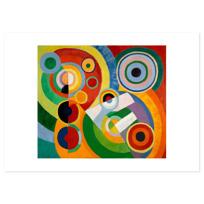 """Art Print """"Rythme, Joie de vivre"""""""
