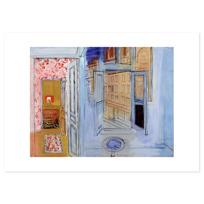 """Art Print """"L'Atelier de l'impasse Guelma"""""""
