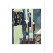 """Art Print """"La Guitare"""""""