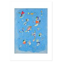 """Art Print """"Bleu de ciel"""""""