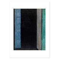 """Art Print """"Porte-fenêtre à Collioure"""""""