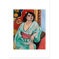 "Art Print ""L'Algérienne"""