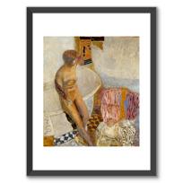 """Framed Art Print """"Nu à la baignoire"""""""