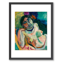 """Affiche Encadrée """"La Gitane"""""""