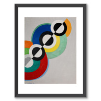 "Framed Art Print ""Rythmes"""