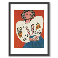 "Framed Art Print ""La Blouse roumaine"""