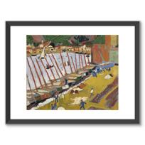 """Framed Art Print """"Le Faubourg de Collioure"""""""
