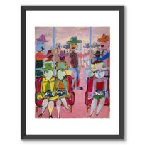 """Framed Art Print """"Métro"""""""
