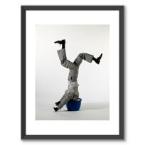 """Affiche Encadrée """"Le mannequin"""""""