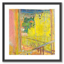 "Framed Art Print ""L'Atelier au mimosa"""