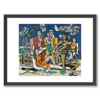 "Framed Art Print ""Les Loisirs - Hommage à Louis David"""