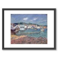 """Framed Art Print """"Port de Martigues"""""""