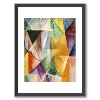 """Framed Art Print """"Une fenêtre"""""""