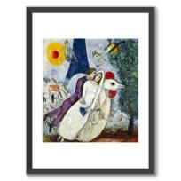 """Framed Art Print """"Les mariés de la Tour Eiffel"""""""