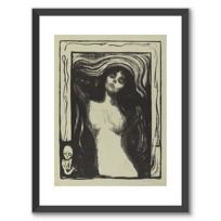 "Framed Art Print ""Madonna"""