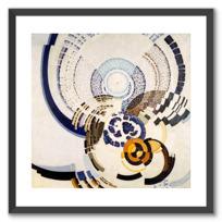 """Framed Art Print """"Autour d'un point"""""""