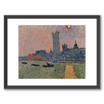 "Framed Art Print ""Londres, Westminster"""