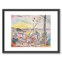 "Framed Art Print ""Luxe, calme et volupté"""