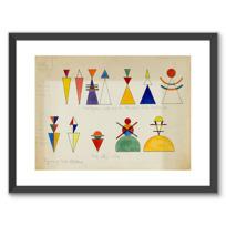 "Framed Art Print ""Figurines pour tableau 16"""