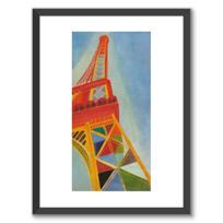 """Affiche Encadrée """"La Tour Eiffel"""""""