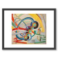 """Framed Art Print """"Hélice et rythme"""""""
