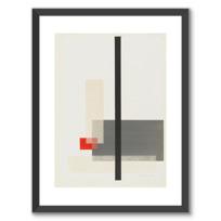 """Affiche Encadrée """"Portfolio des maîtres du Bauhaus: (sans titre)"""""""