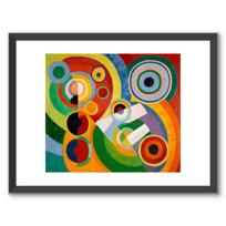 """Framed Art Print """"Rythme, Joie de vivre"""""""