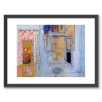 """Framed Art Print """"L'Atelier de l'impasse Guelma"""""""