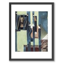 """Affiche Encadrée """"La Guitare"""""""
