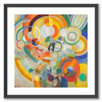 "Framed Art Print ""Manège de cochons"""