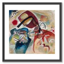 """Framed Art Print """"Mit dem schwarzen Bogen (Avec l'arc noir)"""""""
