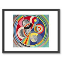 """Framed Art Print """"Rythme n° 1"""""""