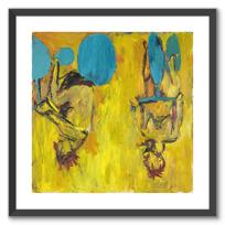 """Framed Art Print """"Die Mädchen von Olmo II [Les Filles d'Olmo II]"""""""