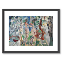 "Framed Art Print ""La Ville de Paris"""