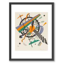 "Framed Art Print ""Kleine Welten IV (Petits Mondes IV)"""
